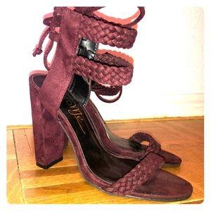 Plum Heels